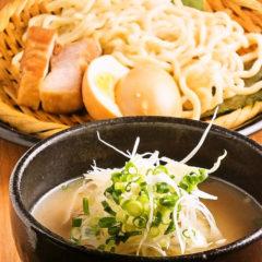 魚竹のつけ麺