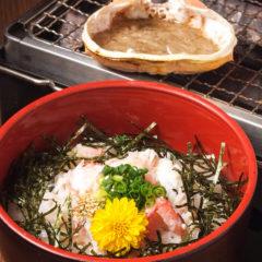 カニ味噌ぶっかけ丼