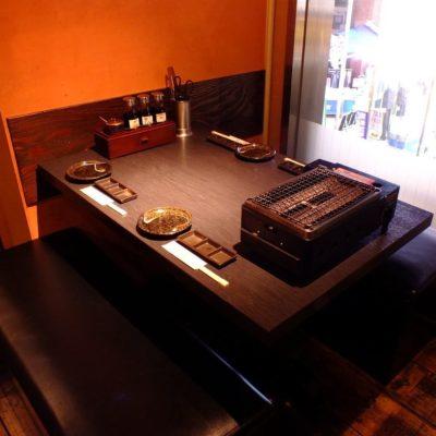 テーブル4名様×1
